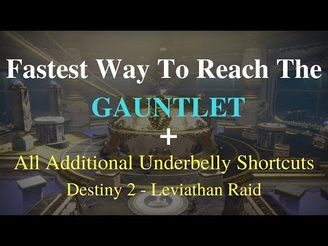 Xxx Mp4 Destiny 2 Fastest Way To Reach The Gauntlet All Additional Underbelly Shortcuts 3gp Sex