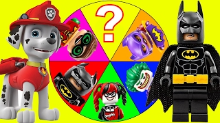 The Lego Batman Movie Game with Paw Patrol Surprise, Slime, Trolls Toys Poppy