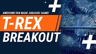 AWESOME FAN MADE JURASSIC GAME! - T.Rex Breakout Game