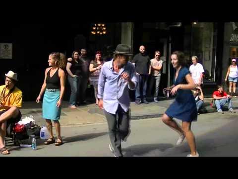 Smoking Time Jazz Club Charleston & Dancers