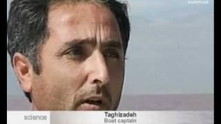 euronews science - Iran : le lac d