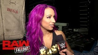 Sasha Banks is out for retribution in the Royal Rumble Kickoff: Raw Fallout, Jan. 23, 2017