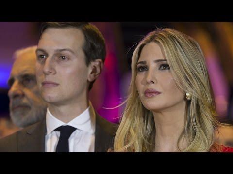 Trump Makes Ivanka's Husband Top Adviser