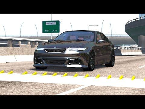 Spike Strip High Speed Crashes #8 – BeamNG Drive