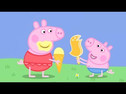 Peppa Pig en Español ¡Día muy caluroso Dibujos Animados