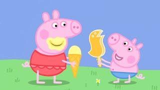 Peppa Pig en Español -  ¡Día muy caluroso! - Dibujos Animados