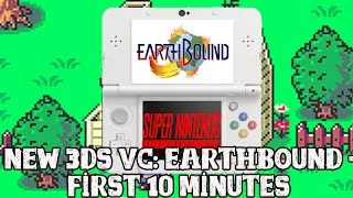 [Earthbound 3DS VC] First 10 minutes