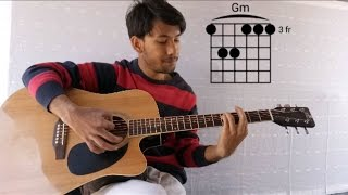 Main Jahaan Rahoon Guitar Lesson & Cover | Chords & Strumming