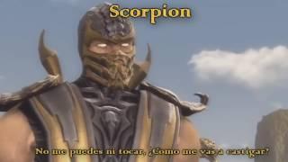 Ghost Rider vs  Scorpion   Batalla de Rap   Adri RoSan ft  Borrego