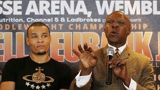 CHRIS EUBANK Jr KNOWS HE DIDN'T PERFORM WELL AGAINST GEORGE GROVES & LOOKS FORWARD TO CALLUM SMITH!