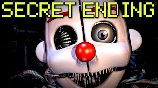 Five Nights at Freddy's: Sister Location - ALL ENDINGS + SECRET ANIMATRONIC