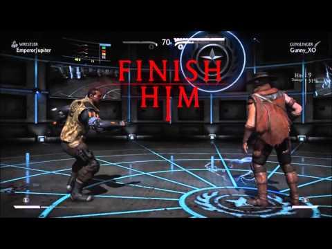 MKX: EMPR Jupiter (Jax - Wrestler) vs cR GunShow (Erron Black - Gunslinger)