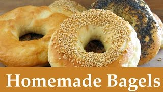 How to Make Bagels -- The Frugal Chef