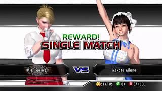 RUMBLE ROSES XX (XBOX 360/ONE) #21 QotR Championship Match - Miss Spencer(c) vs Makoto Aihara