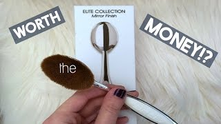 ARTIS OVAL 7 BRUSH: First impression & is it worth the money!?