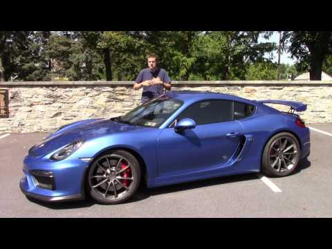 The Porsche Cayman GT4 Is One of the Best Cars I've Ever Driven