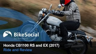 Honda CB1100 RS and EX (2017) - First ride and review | BikeSocial