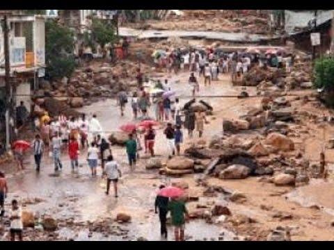 17 Aniversario de las victimas del huracán Paulina en Acapulco