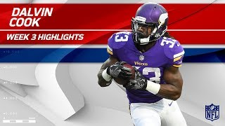 Dalvin Cook Highlights vs. Tampa Bay | Buccaneers vs. Vikings | Wk 3 Player Highlights