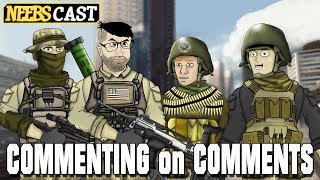 Commenting on Comments - Beers & Spears!!! Neebscast