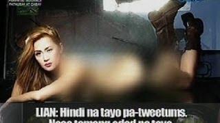 Startalk: Lian Paz, sumabak sa mapangahas na photo shoot para sa isang men's magazine
