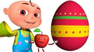 Five Little Babies Fruit Song   Surprise Eggs   Zool Babies Fun Songs