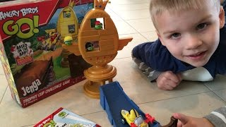 Angry Birds Jenga Game Review & Unboxing