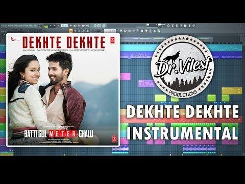 Dekhte Dekhte (Instrumental) | Batti Gul Meter Chalu | Atif Aslam | Nusrat Saab | Dr.Vilest