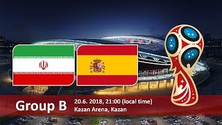 World cup 2018. Game 20 of 64. Iran vs Spain.PES 18 pc