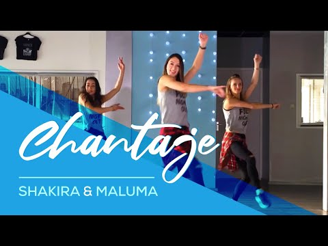 Xxx Mp4 Chantaje Shakira Ft Maluma Easy Fitness Dance Video Choreography 3gp Sex