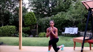 How to do skater lunges