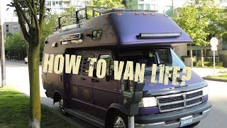 How to #vanlife? Just do it.