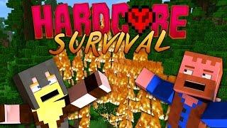 HARDCORE MINECRAFT ★ FOREST FIRE MAYHEM (3)