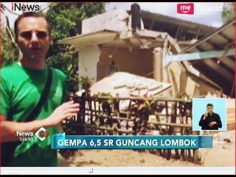 Xxx Mp4 Kepanikan Warga Saat Gempa 6 5 SR Kembali Guncang Lombok INews Siang 19 08 3gp Sex