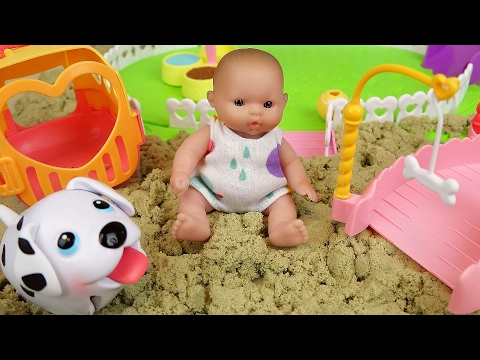 Xxx Mp4 Baby Doll And Pet Dog Sand Play Ground Toys Play 3gp Sex