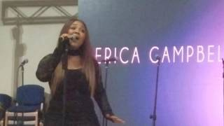 Erica Campbell Live WELL DONE .... i am FISLL