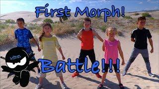 Ninja Kidz First Morphed Battle!  New Bonus Scene Included!