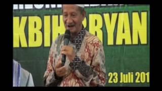 Sangu Haji & Resep hidup sukses bahagia Gus Ali ; Tausiah singkat KBIH Bryan Makkah Juli 2017