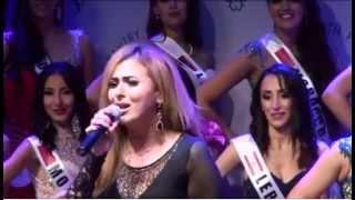 فرح يوسف أغنية  I will always love you   من حفل تتويج ملكة جمال العرب في الولايات المتحدة الأمريكية