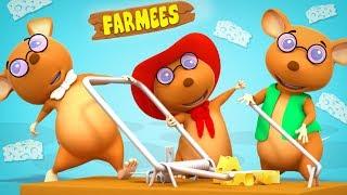 Three Blind Mice | Nursery Rhymes | Kids Songs | Rhymes For Kids