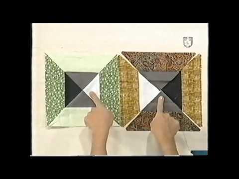 Puntos y Puntadas 320. Patchwork. Tapiz Mosaicos Venecianos. C. Koppmann.