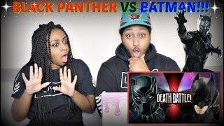"ScrewAttack! ""Black Panther VS Batman (Marvel VS DC) | DEATH BATTLE"" REACTION!!!"