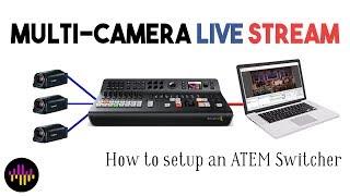 Multi-Camera Live Stream & How to Setup an ATEM Switcher