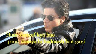 Shahrukh Khan Famous Dialogues   Bollywood Popular Movies Dialogues   Fan Hindi Movie Dialogues