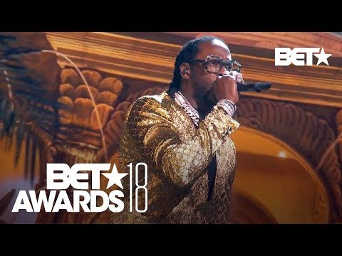 "YG, 2 Chainz, Nicki Minaj & Big Sean In A Bomb ""Big Bank"" Performance! | BET Awards 2018"