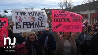 Scenes from the 2018 Women's March on N.J. in Morristown