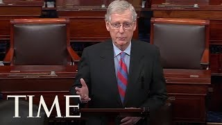 Mitch McConnell Says President Trump Will Sign Border Bill But Declare National Emergency | TIME