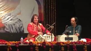ustad tari khan and shahbaz hussain khan solo tabla  New video 14.03.2018  Lahore