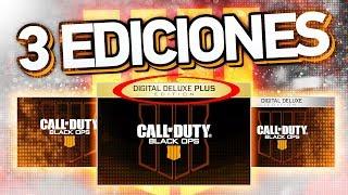 EDICIÓN DIGITAL DELUXE PLUS!!! 3 Ediciones de BLACK OPS 4 encontradas en Black Ops 3!