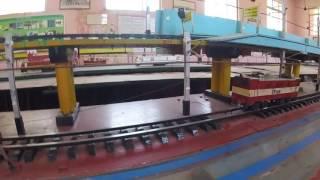 Electric rail model (ICF)